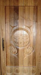 Culture Center door