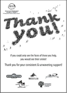 WCCS thank you